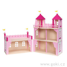 Růžový zámek – domeček propanenky