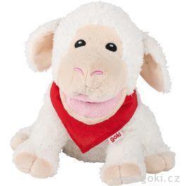 Maňásek naruku – bílá ovečka Zuzka