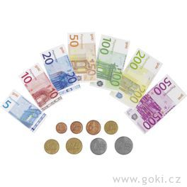 Dětské euro peníze, 116dílů