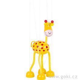 Marioneta – žirafa