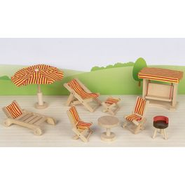 Nábytek propanenky – zahradní nábytek, 9dílů