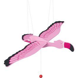 Růžový plameňák – létající závěsná dekorace