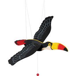 Tukan – létající závěsná dekorace