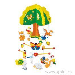 Dřevěný závěsný kolotoč – Strom