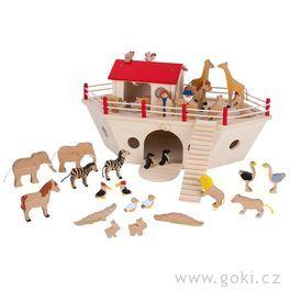 Noemova archa velká, 28zvířátek, Noeažena