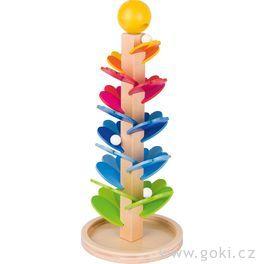 Kuličková dráha – zpívající pagoda