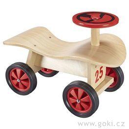 Dřevěné odrážedlo proděti