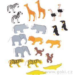 Africká zvířátka, 20dílů