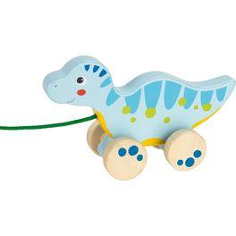 Modrý dinosaurus našňůře