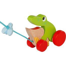 Žabák amoucha –hračka našňůrce