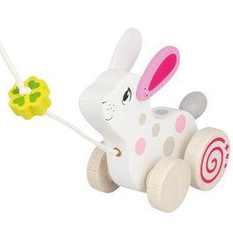 Bílý králíček – hračka naprovázku