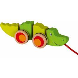 Ohebný krokodýl naprovázku