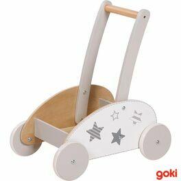 Dřevěný vozík