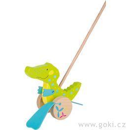 Krokodýl Susibelle – zvířátko natyči