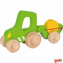 Traktor svlečkou