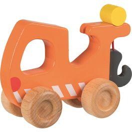Odtahový vůz – dřevěné autíčko pronejmenší