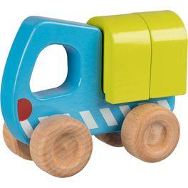 Náklaďák – dřevěné autíčko pronejmenší