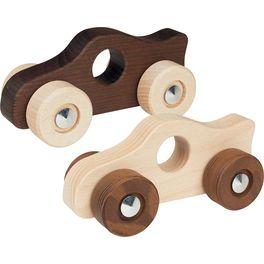 Závodnička – autíčko doručky zneošetřeného dřeva, gokinature