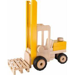 Vysokozdvižný vozík ještěrka, hračka zedřeva
