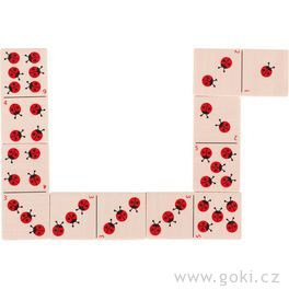 Domino berušky, 28dílů