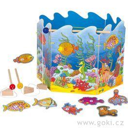 Stolní hra– Magnetický rybolov