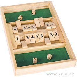 Stolní hra– Shut thebox