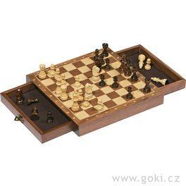 Magnetické šachy, logická hra– 25x25cm