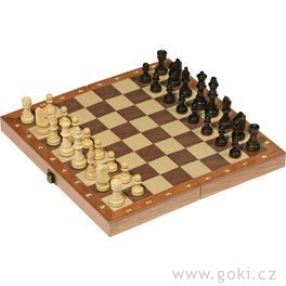 Šachy zedřeva – 30x30cm