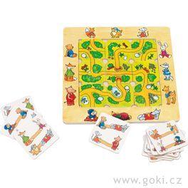 Stolní hra– Najdi cestu
