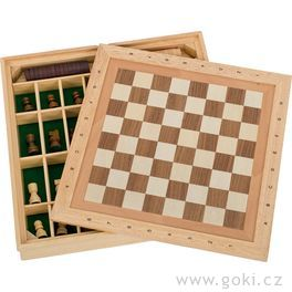 Stolní hra3 v1– šachy, dáma, mlýn