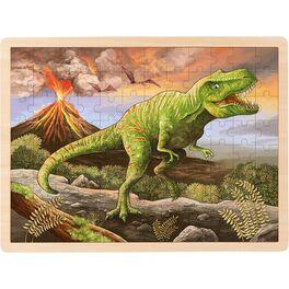 Dřevěné puzzle –T-Rex, 96dílů