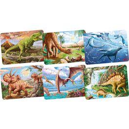 Puzzle mini –Dinosauři, 24díly