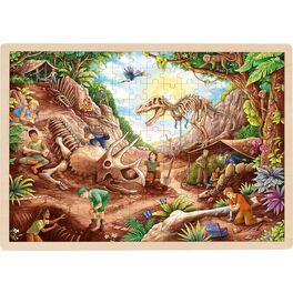 Vkládací puzzle –Dinosauří vykopávky, 192díly