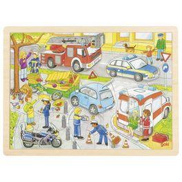 Puzzle – policejní zásah, 56dílů