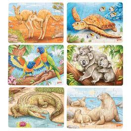 Puzzle mini – Australská zvířátka, 24díly