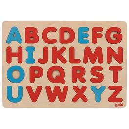 Puzzle abeceda Montessori, 26dílů