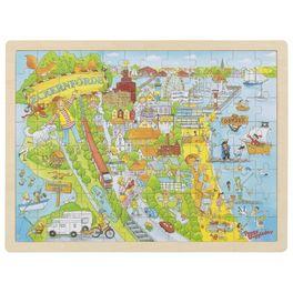 Peggy uBaltského moře, puzzle s96díly