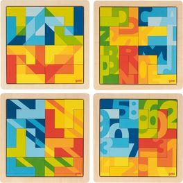 Puzzle vetvaru L,16dílů