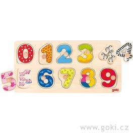 Puzzle súchytkami – počítáme dodeseti