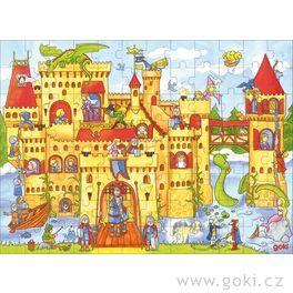 Puzzle – Rytířský hrad, 96dílů