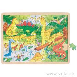 *AKCE* Puzzle nadesce – Dinosauři, 96dílů