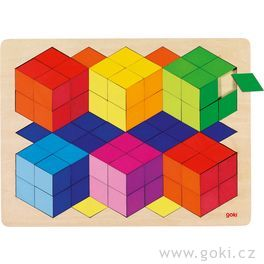 Puzzle nadesce s3Defektem, 86dílů