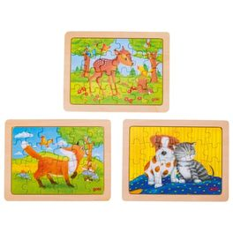 Minipuzzle – Zvířecí přátelé