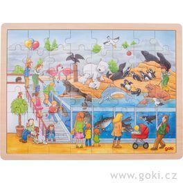 Puzzle – Výlet doZOO, 48dílů
