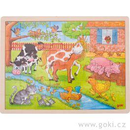 Puzzle – Život nafarmě, 48dílů