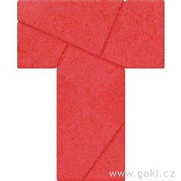 Kamenné puzzle zapeklité Téčko, 5dílů – goki stone