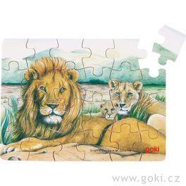 Puzzle – Divoká zvířata, 24díly