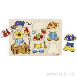 *AKCE* Oblékací puzzle – Pirát