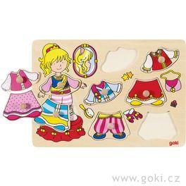 Oblékací puzzle – Princezna