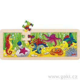 Puzzle – Podmořský svět, 24díly